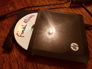 Picture of the final mixes