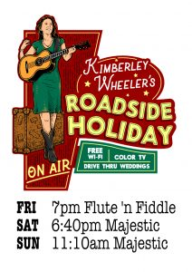 NFF Schedule; Fri 7pm Flutue 'n Fiddle, Sat 6:40pm Majestic, Sun 11:10am Majestic